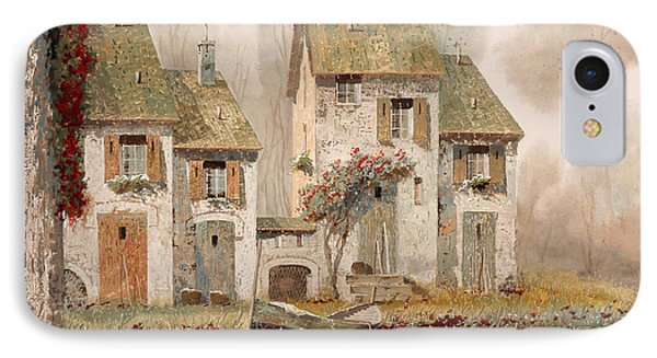 Borgo Nebbioso IPhone Case by Guido Borelli