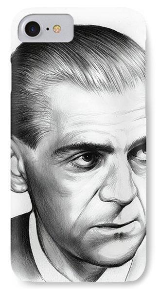 Boris Karloff IPhone Case by Greg Joens