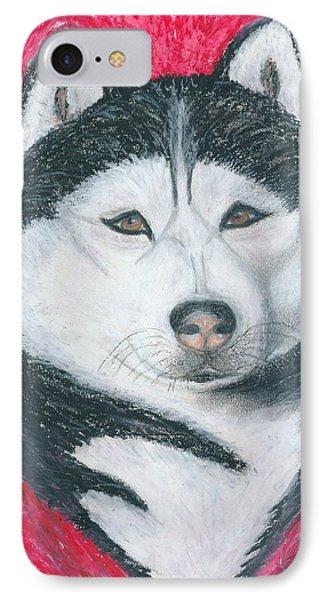 Boris The Siberian Husky IPhone Case by Ania M Milo