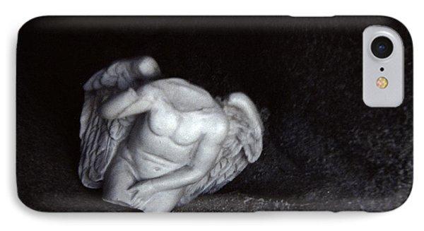 Borken Angel IPhone Case by Ann Tracy