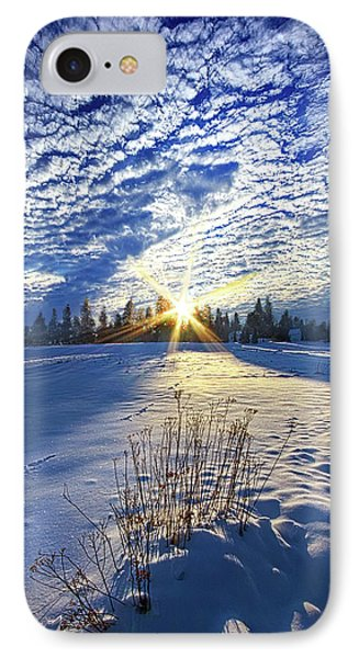 IPhone Case featuring the photograph Born As We Are by Phil Koch
