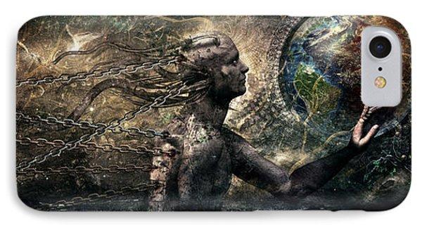Born Of Osiris Soul Sphere Phone Case by Cameron Gray