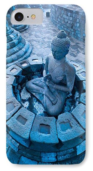 Borobudur Temple IPhone Case by Luciano Mortula