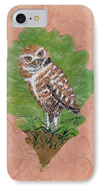 Borrowing Owl IPhone Case by Ralph Root