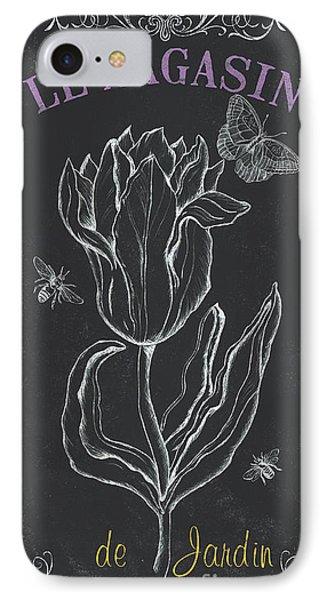 Tulip iPhone 7 Case - Bortanique 4 by Debbie DeWitt