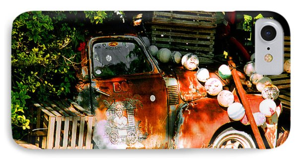 B.o.'s Fish Wagon In Key West IPhone Case by Susanne Van Hulst