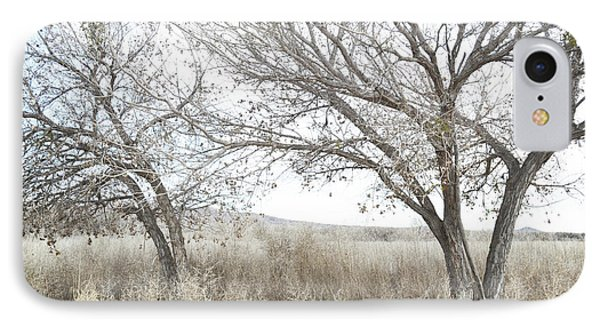 IPhone Case featuring the photograph Bosque Dreamy Tree Field by Andrea Hazel Ihlefeld