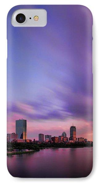 Boston Afterglow Phone Case by Rick Berk