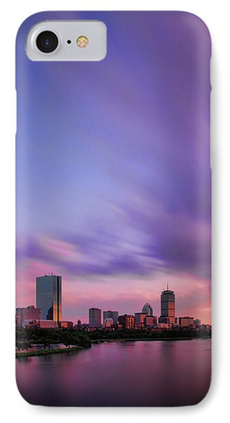 Boston Afterglow IPhone Case by Rick Berk