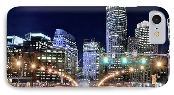 Boston Alight IPhone Case by Frozen in Time Fine Art Photography
