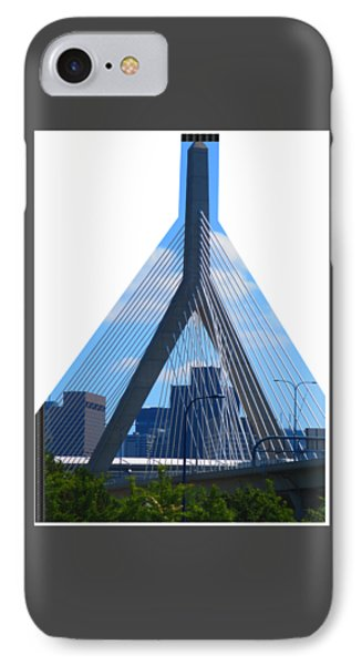 Boston Bridges So Beautiful A Photograph Can Give You All The Time To Enjoy The Moment IPhone Case by Navin Joshi