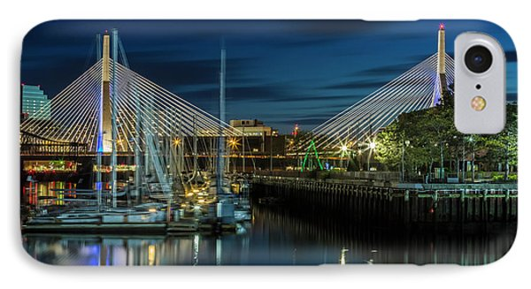Boston Bunker Hill Bridge IPhone Case