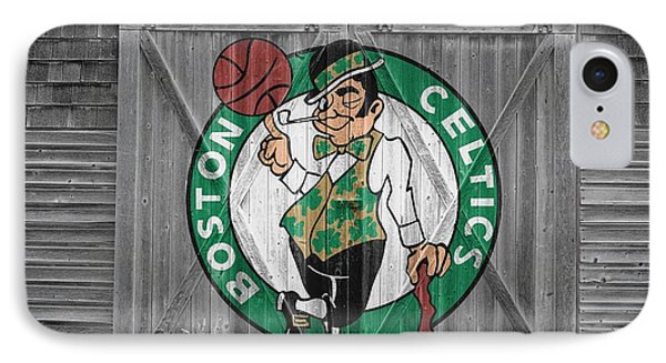 Boston Celtics Barn Doors IPhone Case