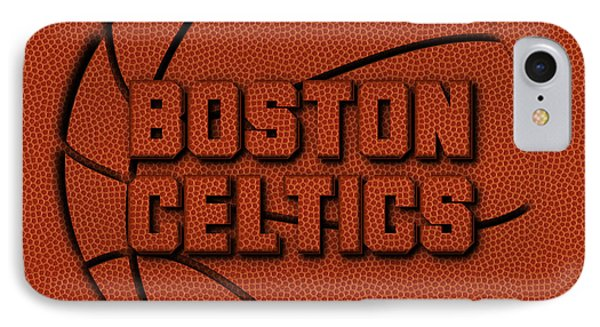 Boston Celtics Leather Art IPhone Case