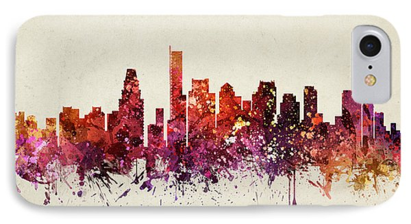 Boston Cityscape 09 IPhone Case by Aged Pixel
