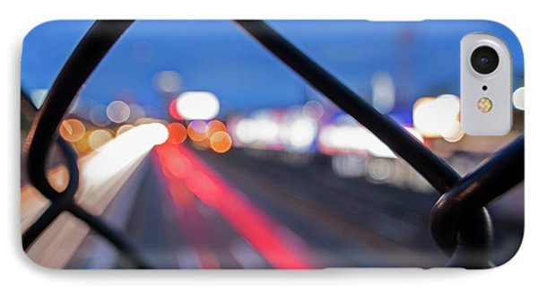 Boston Fence Abstract Mass Pike IPhone Case by Toby McGuire