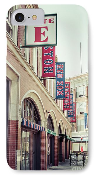 Boston Fenway Park Sign Gate E Entrance IPhone Case by Paul Velgos