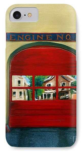 Boston Fire Engine 21 IPhone Case by Paul Walsh