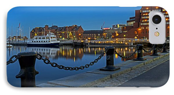 Boston Harbor At Dusk Boston Ma IPhone Case by Toby McGuire