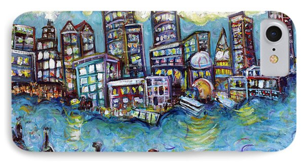Boston Harbor Phone Case by Jason Gluskin