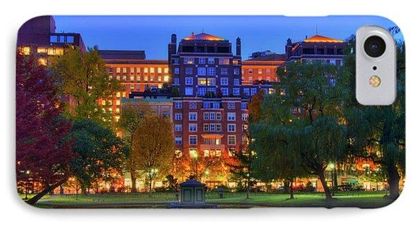 Boston Lagoon In The Public Garden IPhone Case