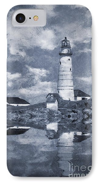IPhone Case featuring the photograph Boston Light  by Ian Mitchell