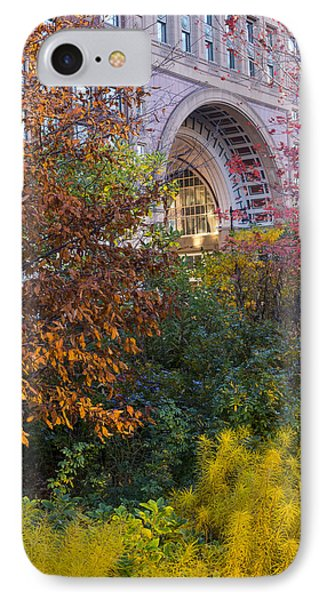Boston Ma Autumn Foliage IPhone Case by Toby McGuire