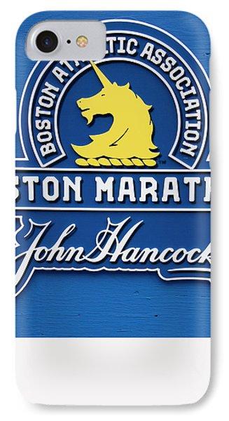 IPhone Case featuring the photograph Boston Marathon - Boston Athletic Association by Joann Vitali