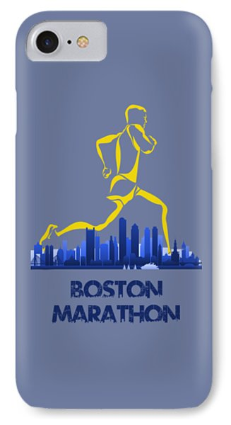 Boston Marathon5 IPhone Case by Joe Hamilton