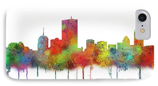 Boston Mas .skyline IPhone Case