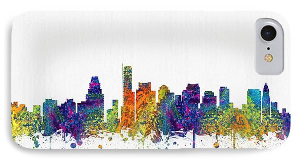 Boston Massachusetts Skyline Color03 IPhone Case by Aged Pixel