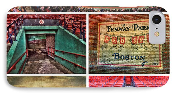 Boston Red Sox Collage - Fenway Park IPhone Case by Joann Vitali