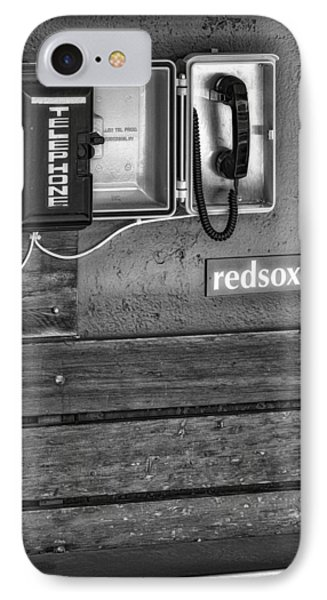 Boston Red Sox Dugout Telephone Bw IPhone Case