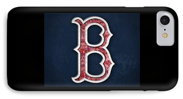 Boston Red Sox IPhone Case by Fairchild Art Studio