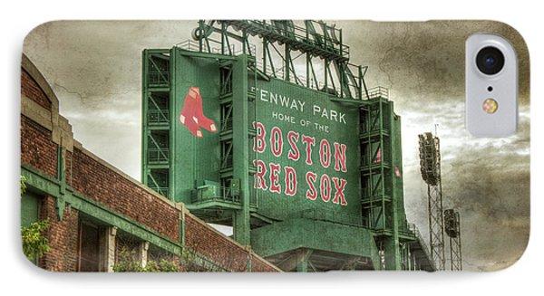 Boston Red Sox Fenway Park Scoreboard IPhone Case