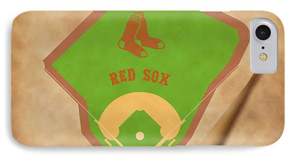 Boston Red Sox Field IPhone Case by Carl Scallop