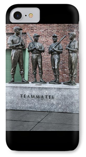 Boston Red Sox Teammates IPhone Case