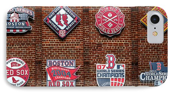 Boston Red Sox World Series Emblems Photograph By Diane