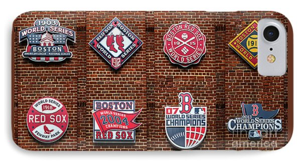 Boston Red Sox World Series Emblems IPhone Case