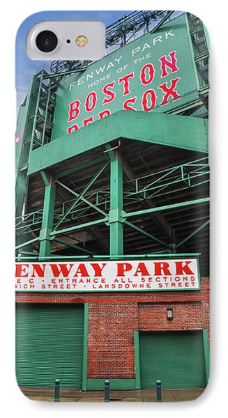 Boston Redsox - Fenway Park IPhone Case by Bill Cannon