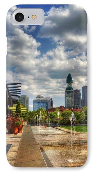 Boston Rose Kennedy Greenway IPhone Case by Joann Vitali