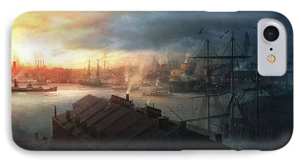 Boston, September The 2nd, 1930. Miskatonic Expedition. IPhone Case by Guillem H Pongiluppi
