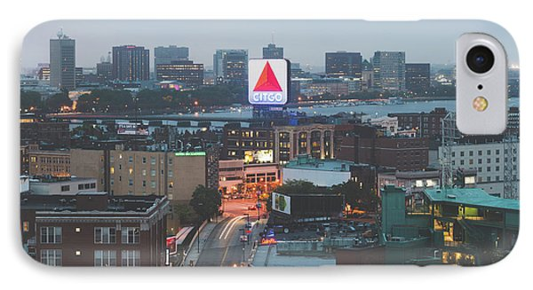 Boston Skyline Aerial Citgo Sign Photo IPhone Case by Paul Velgos