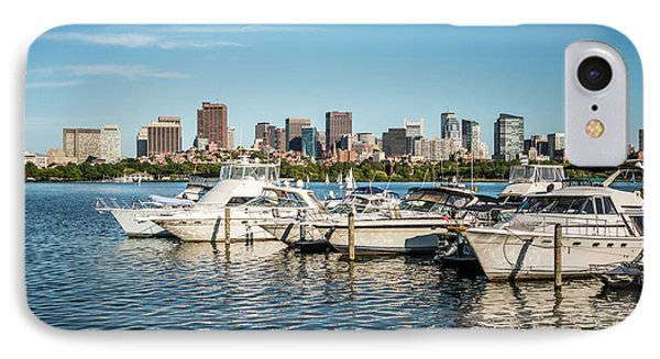 Boston Skyline Charles River Boats Photo IPhone Case by Paul Velgos