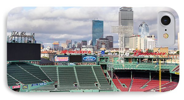 Boston Skyline From Fenway Park IPhone Case