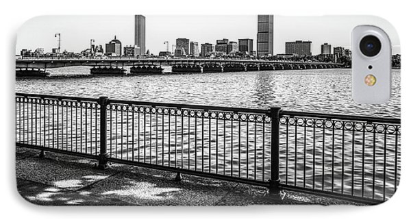Boston Skyline Harvard Bridge Back Bay Photo IPhone Case by Paul Velgos