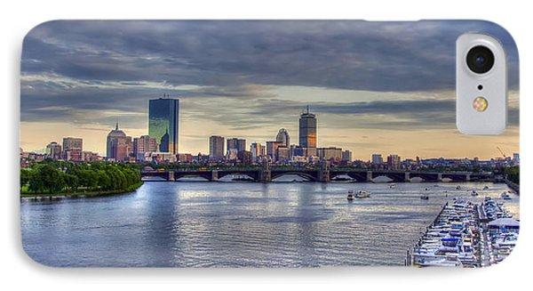 Boston Skyline Panoramic 3 IPhone Case