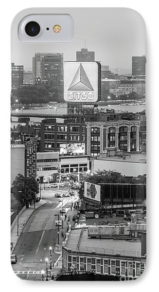 Boston Skyline Photo With The Citgo Sign IPhone Case by Paul Velgos