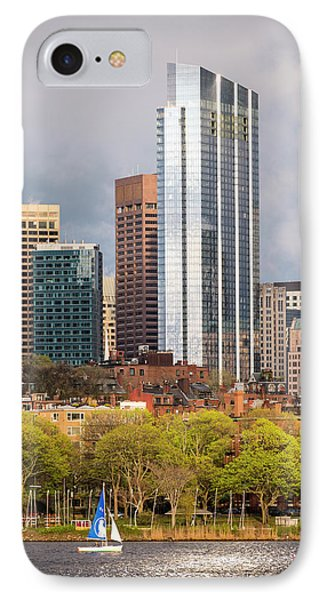 Boston Skyline Skyscraper Boston Ma Charles River IPhone Case by Toby McGuire