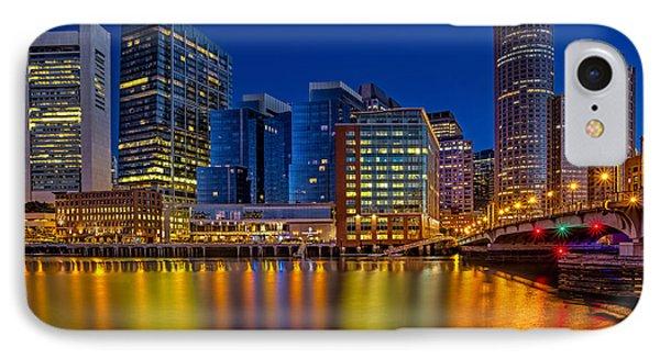 Boston Skyline Twilight IPhone Case